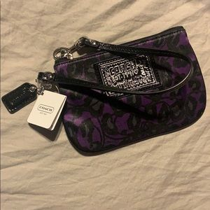 NWT coach coin purse